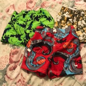 Bundle of swimming trunks